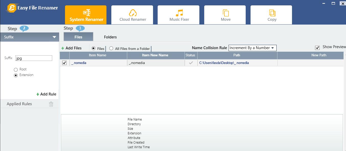 how to delete nomedia file
